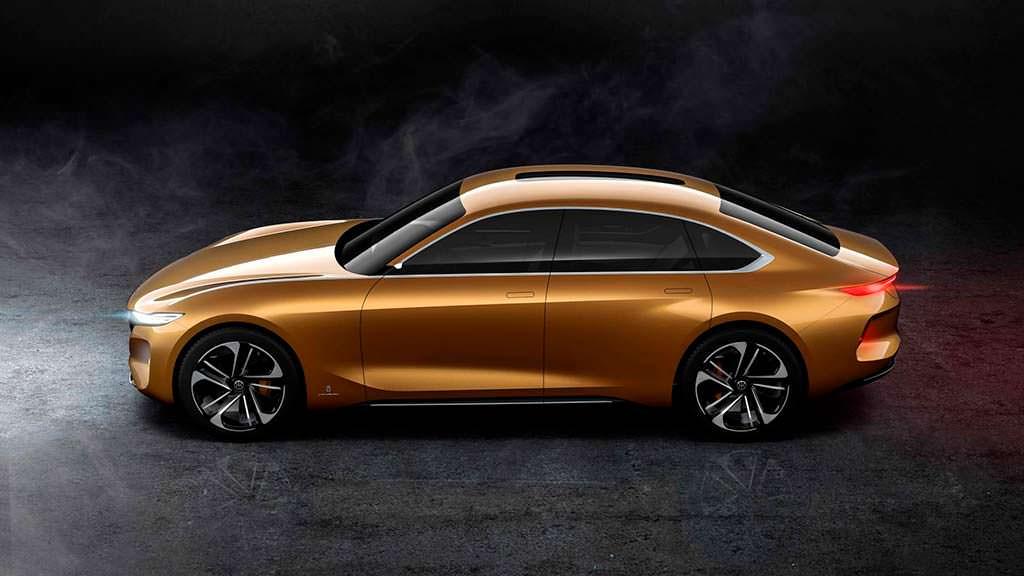 Электромобиль Pininfarina H500 Sedan Concept