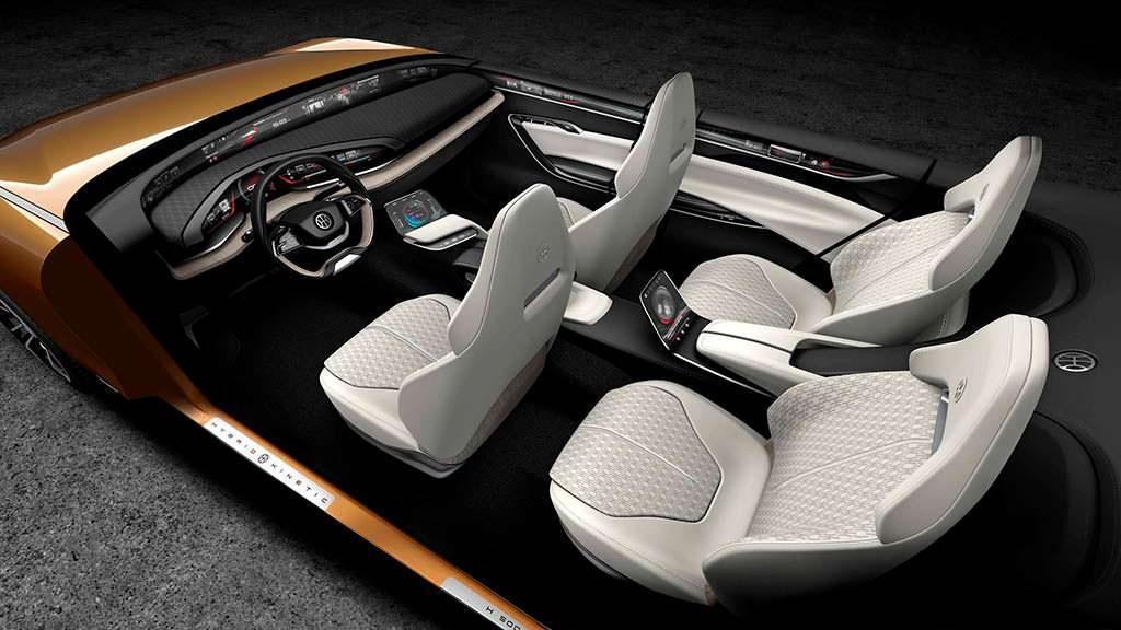 Четырехместный салон Pininfarina H500 Sedan Concept