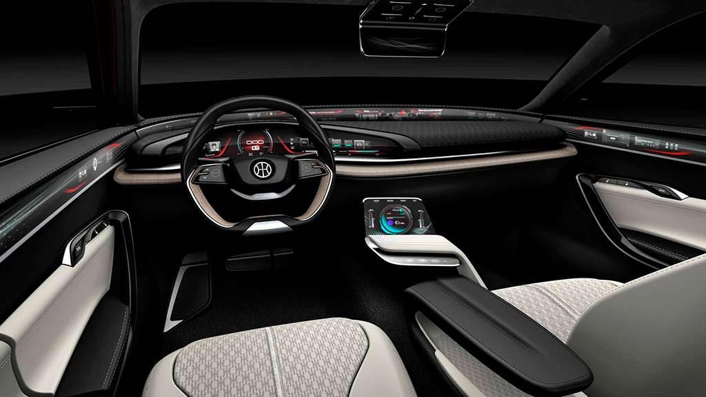 Фото салона Pininfarina H500 Sedan Concept