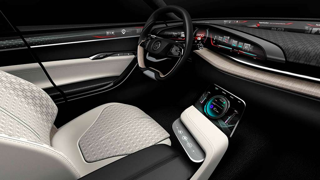 Интерьер Pininfarina H500 Sedan Concept