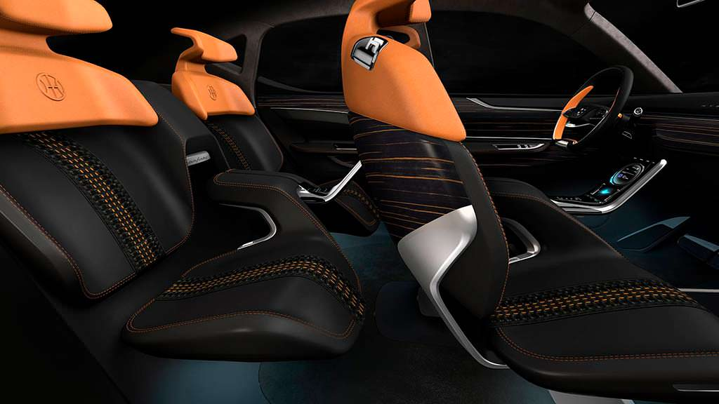 Четырехместный салон Pininfarina K350 Concept