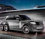 Немецкое ателье готовит шестиколесный Range Rover 6×6 Pickup