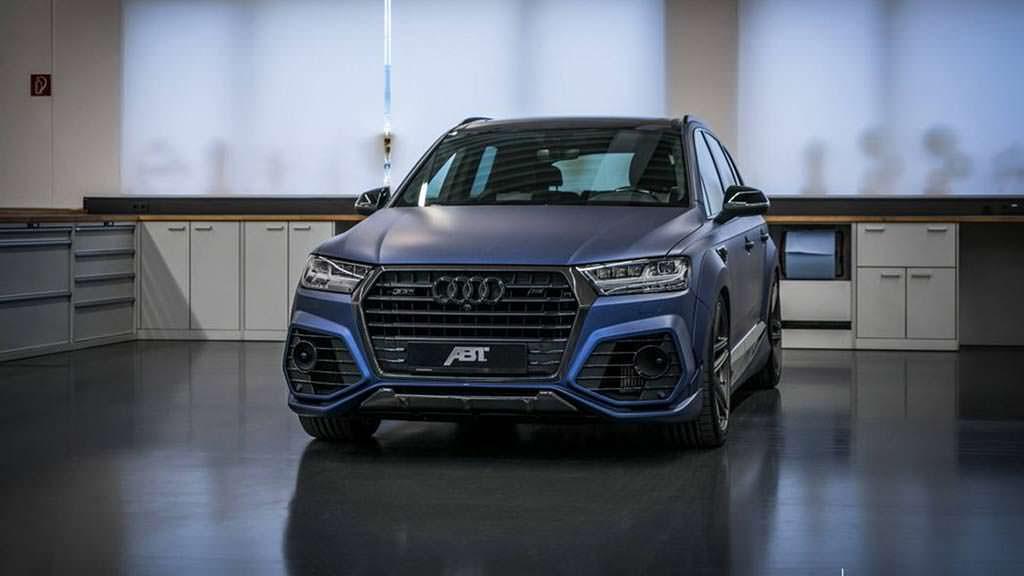 Тюнинг Audi SQ7 от ABT и Vossen. Цена $266 330