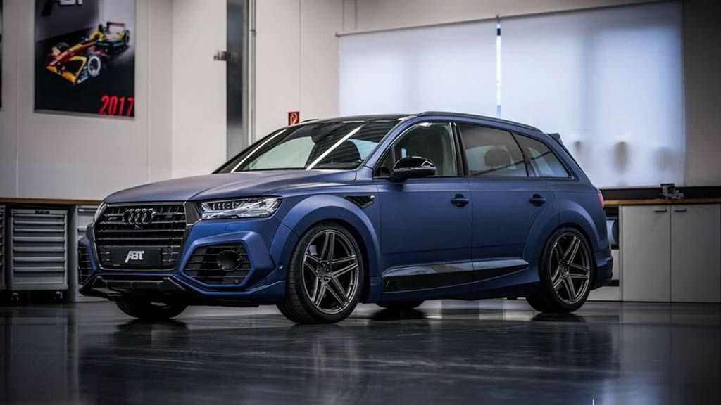 Самый мощный дизельный внедорожник Audi SQ7. Тюнинг от ABT