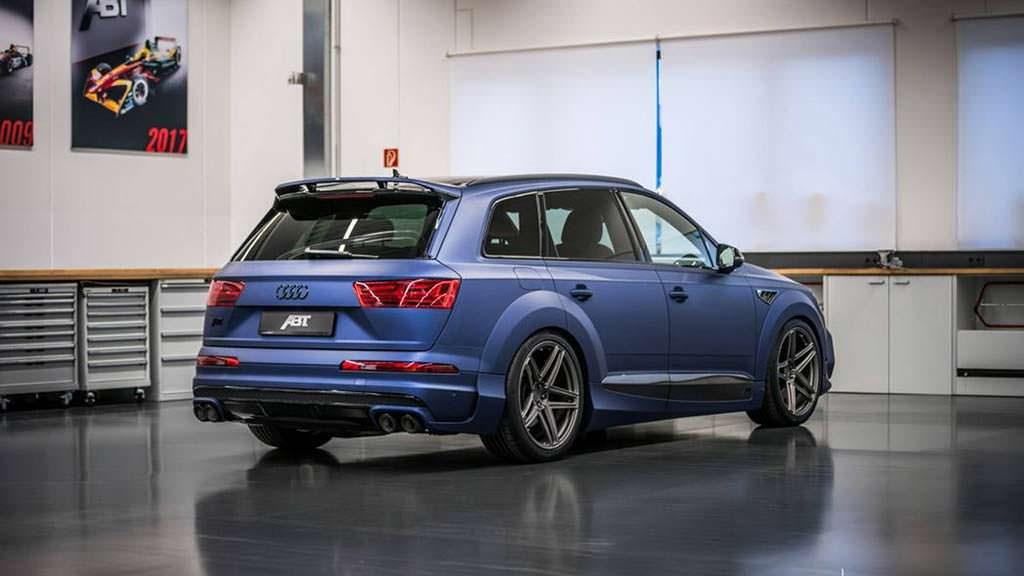 Audi SQ7 4.0 TDI V8. Тюнинг ABT и Vossen