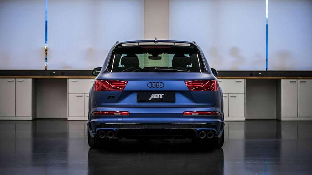 Тюнинг Audi SQ7 4.0 TDI V8 от ABT и Vossen