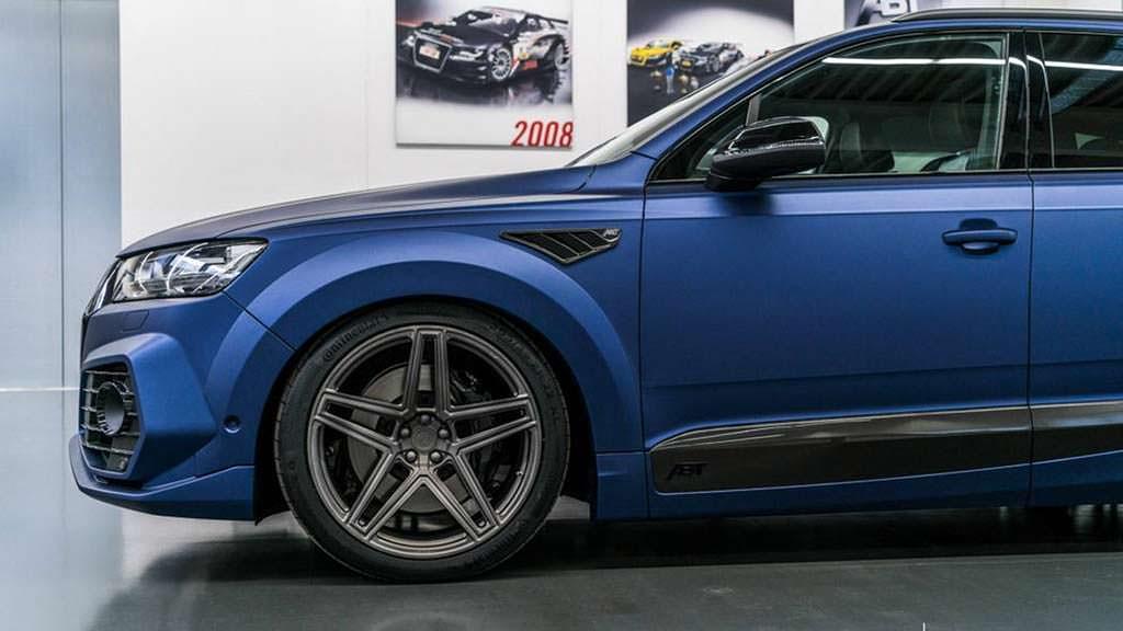 Audi SQ7 TDI на дисках Vossen