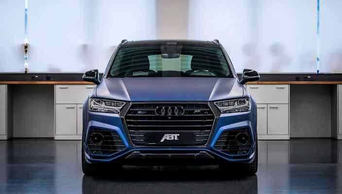 Тюнинг Audi SQ7 от ABT и Vossen до 520 л.с. | фото и цена