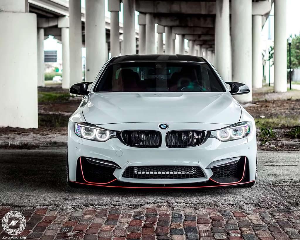 Новая BMW M4 Coupe. Тюнинг от ADV.1 Wheels