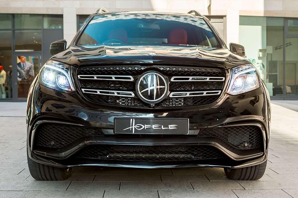 Новый Mercedes-AMG GLS 63. Тюнинг от Hofele