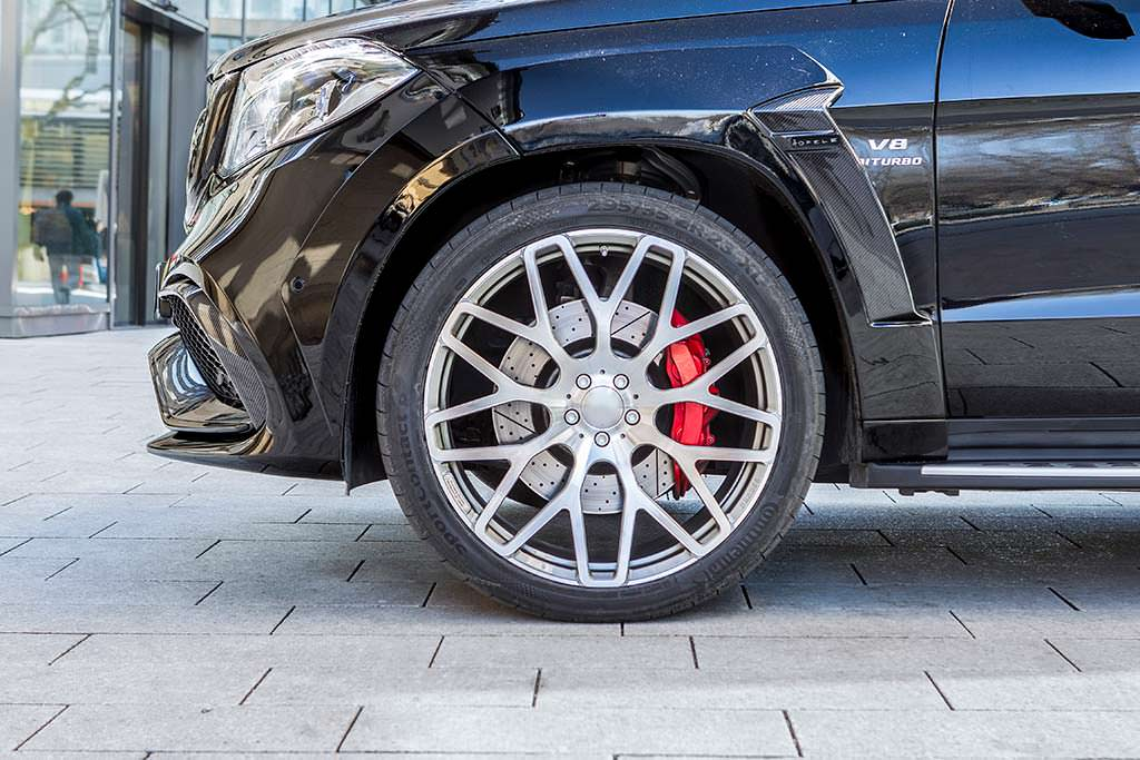 23-дюймовые колеса Mercedes-AMG GLS 63 от Hofele