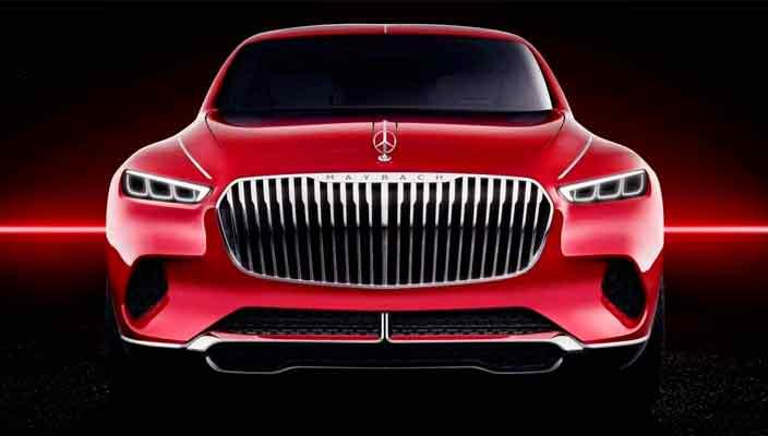 Супер-шикарный внедорожник Mercedes-Maybach покажут в Китае