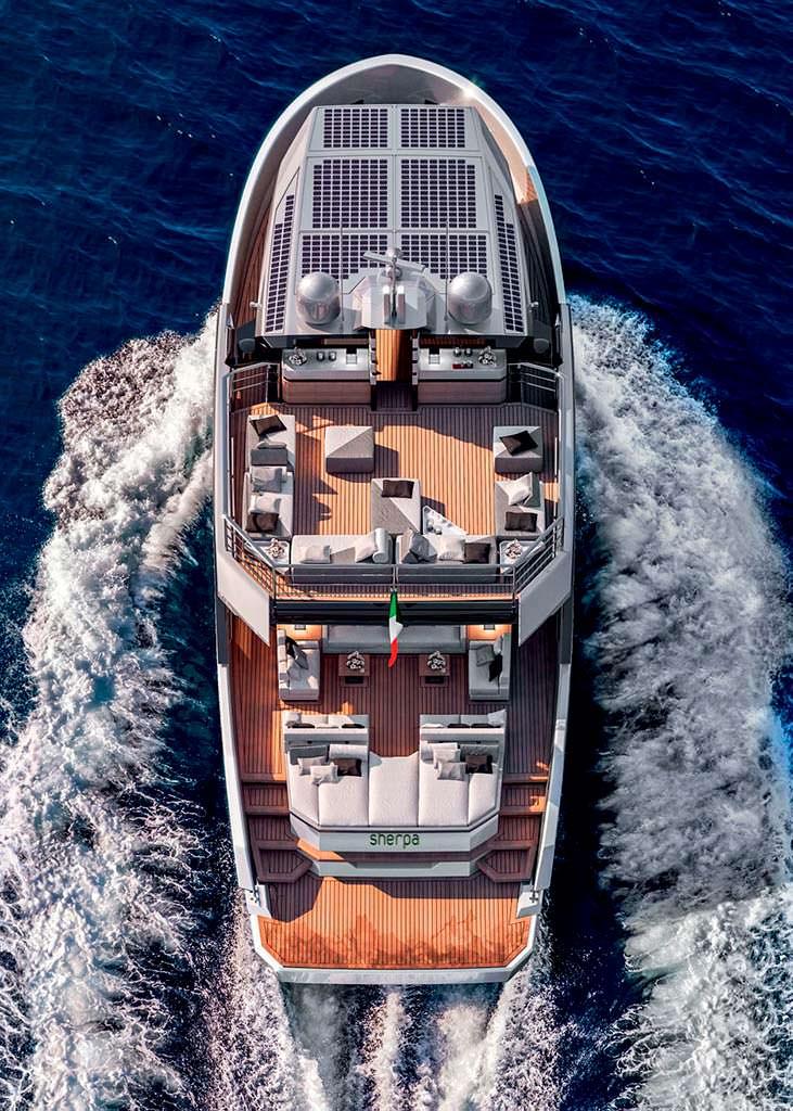 Экологичная яхта Arcadia Sherpa XL. Длина 23,8-метра