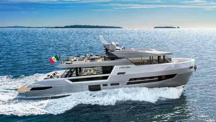 Arcadia Yachts строит первую яхту серии Sherpa XL | фото