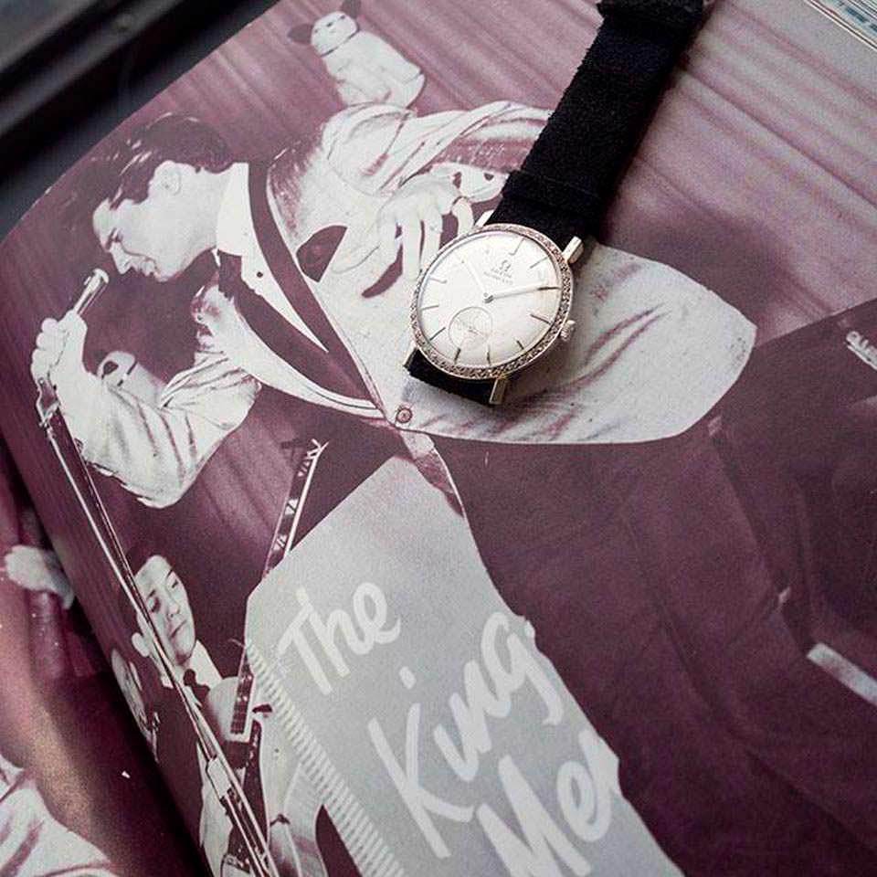 Золотые часы Omega Элвиса Пресли