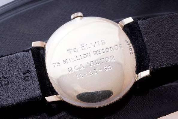 Часы Элвиса Пресли от RCA Records