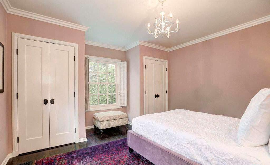 Гостевая спальня в доме актрисы