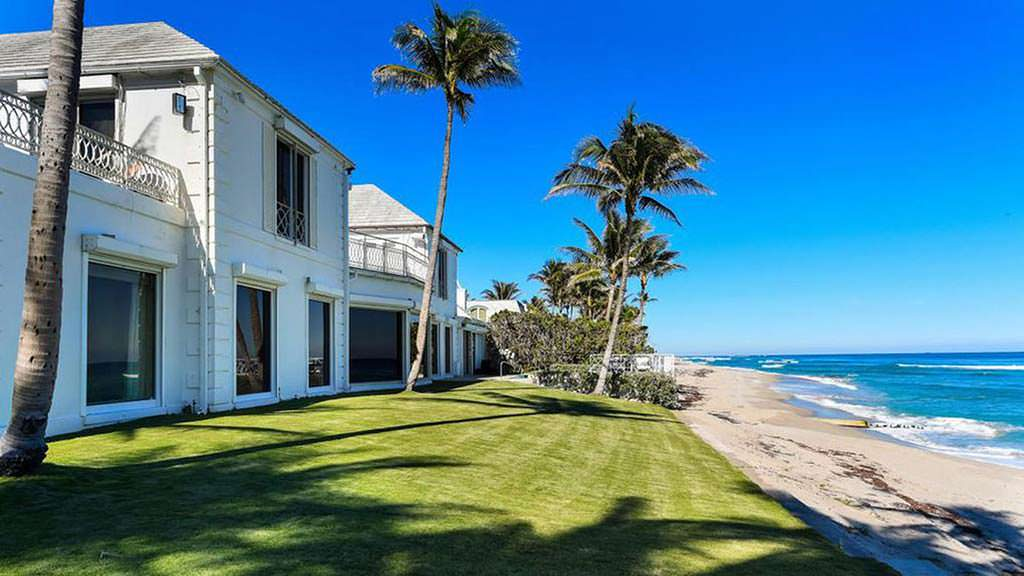 Дом на берегу Атлантического океана в Палм-Бич