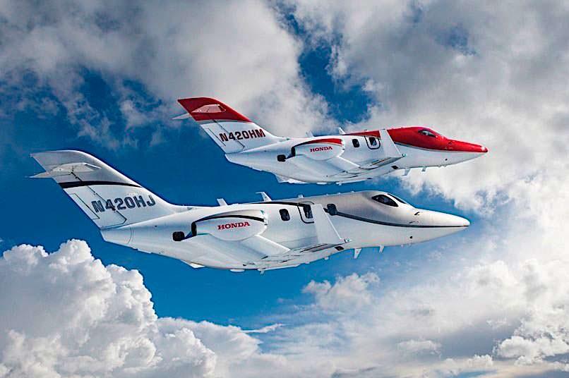 Новый бизнес-джет Honda Elite Jet