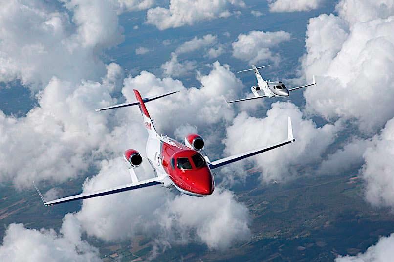 Самолет Honda Elite Jet