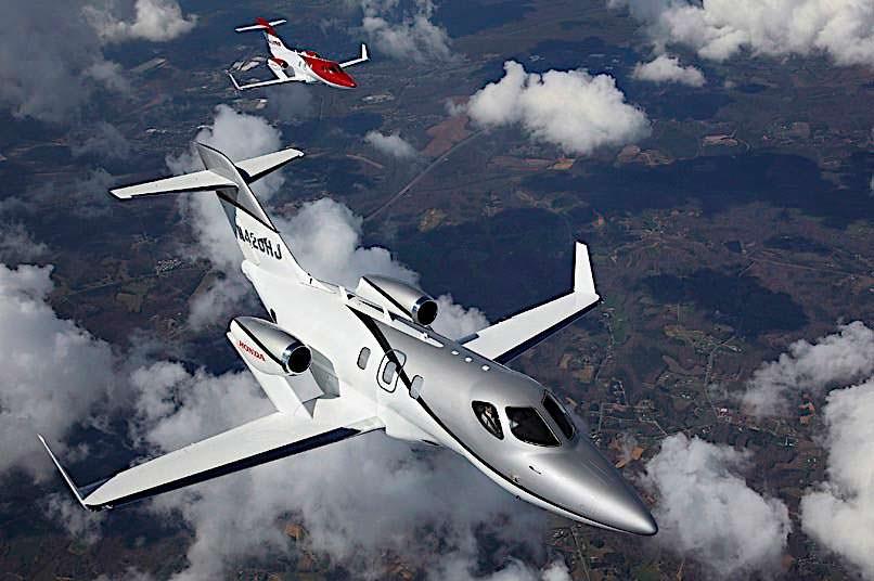 Honda Elite Jet. Максимальная скорость 780 км/ч