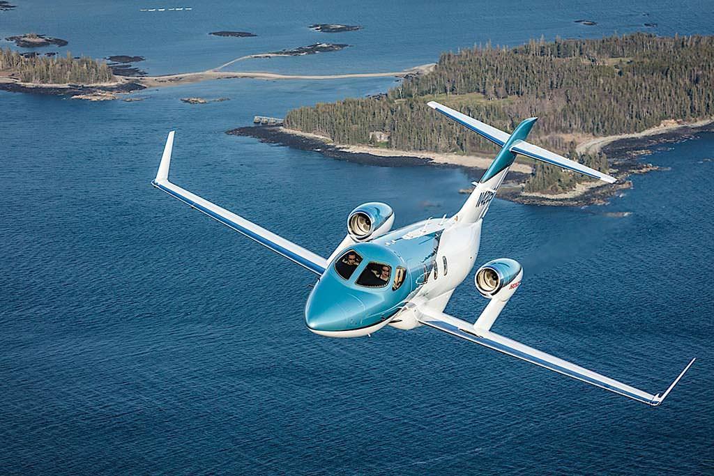 Частный самолет Honda Elite Jet