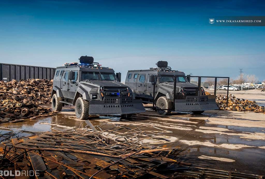Бронированный минивэн Inkas Sentry MPV