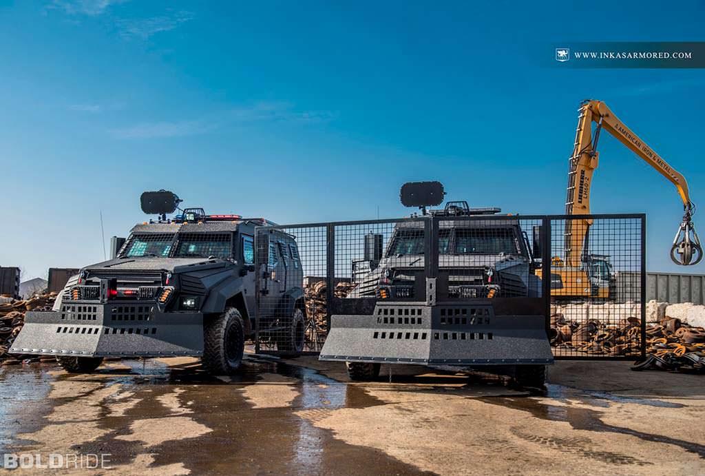 Бронированный автомобиль Inkas Sentry MPV