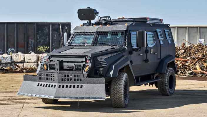 Inkas Sentry MPV - многофункциональный вэн для спецназа