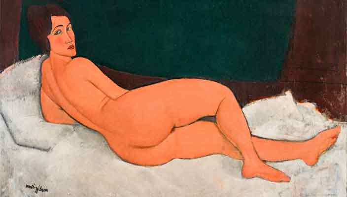 Картина ню Амедео Модильяни ушла с молотка дороже $157 млн