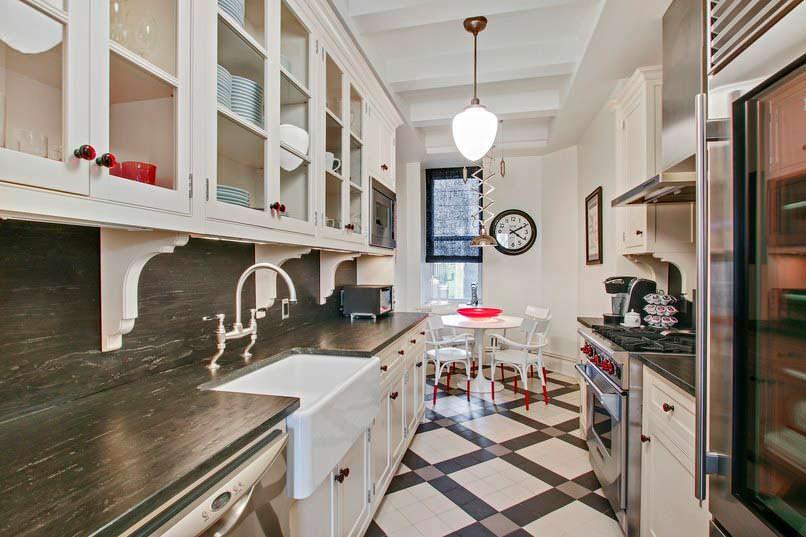 Дизайн кухни в квартире Антонио Бандераса