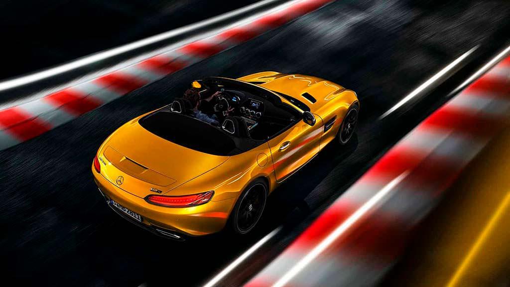 Mercedes-AMG GT S Roadster. Мощность 515 л.с.