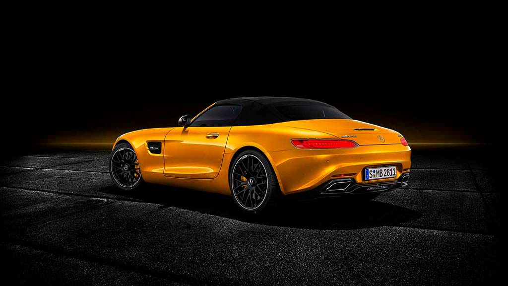 Складной мягкий верх Mercedes-AMG GT S Roadster