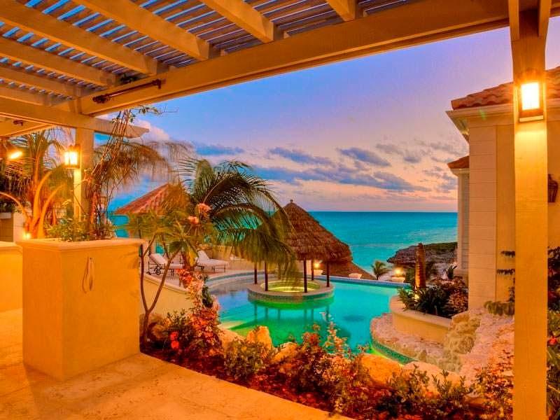 Вилла Принса на островах Теркс и Кайкос. Цена $45 млн