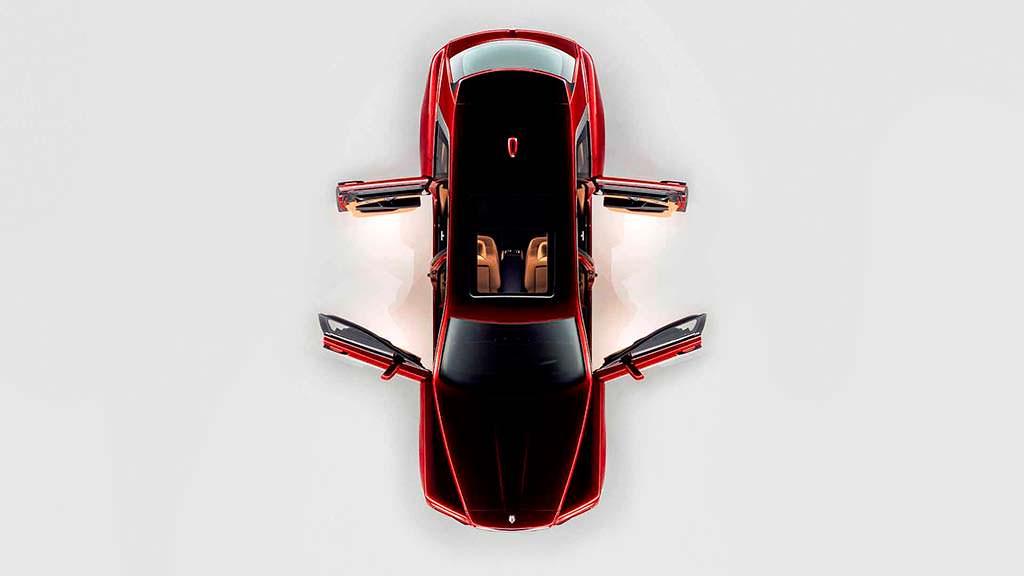 Суицидальные двери Rolls-Royce Cullinan