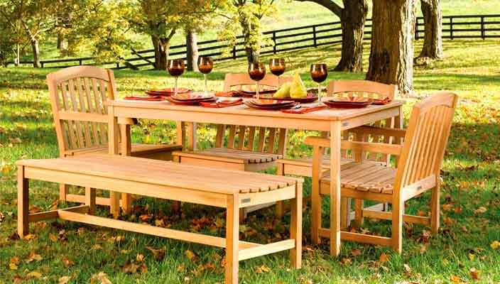 Секреты выбора качественной садовой мебели