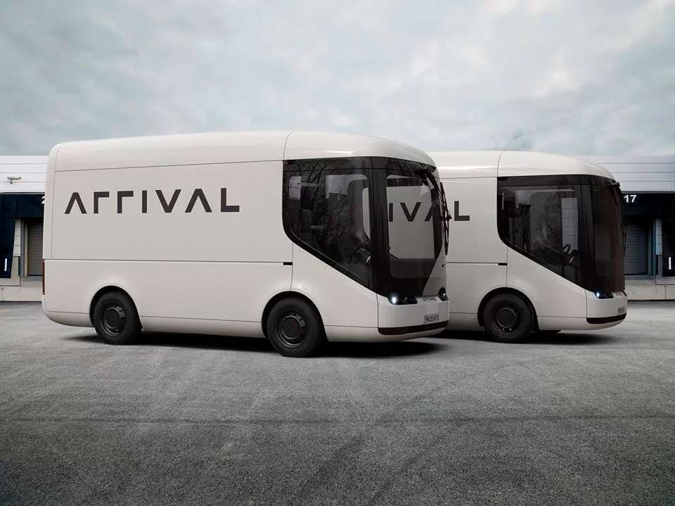 Электро-фургоны Arrival