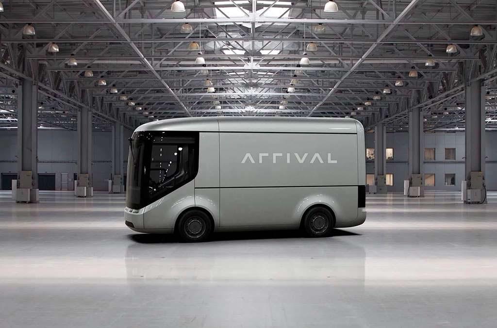Электро-фургон Arrival