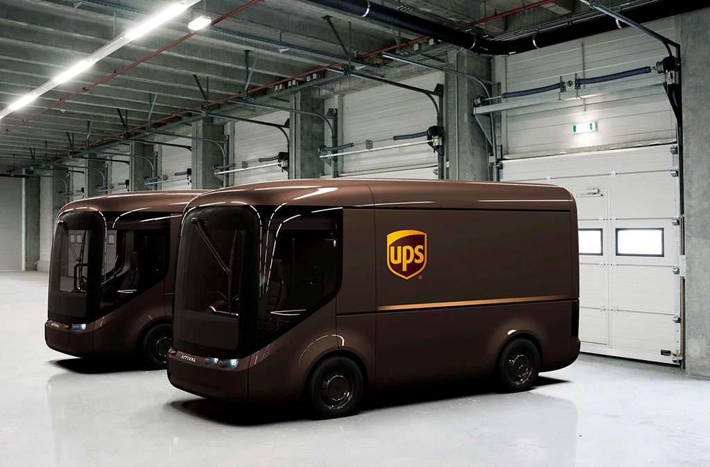 Электро-фургоны UPS Arrival