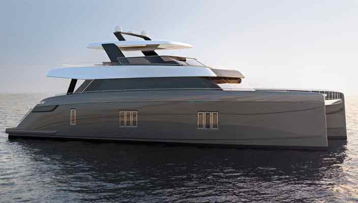 Компания Sunreef Yachts показала мощную яхту-катамаран | фото