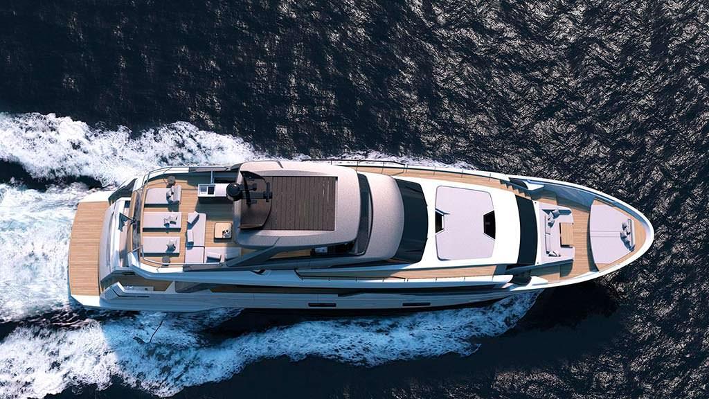 Итальянская яхта Sanlorenzo SL102