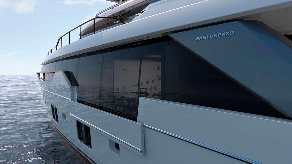 Яхта Sanlorenzo SL102. Дизайн Крис Бэнгл