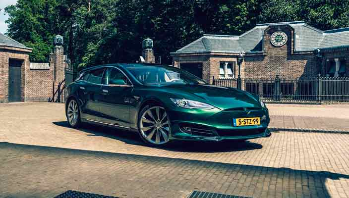 Из Tesla Model S сделали универсал Shooting Brake | фото