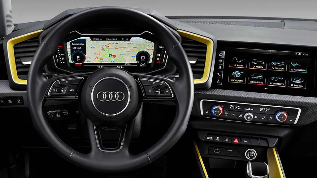 Салон Audi A1 Sportback 2019