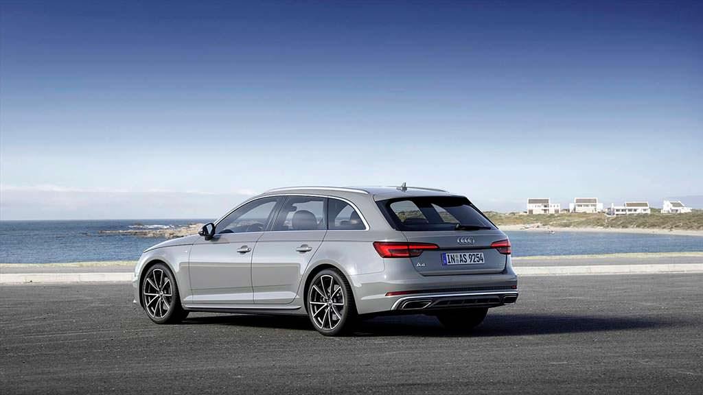 Рестайлинг Audi A4 Avant 2019