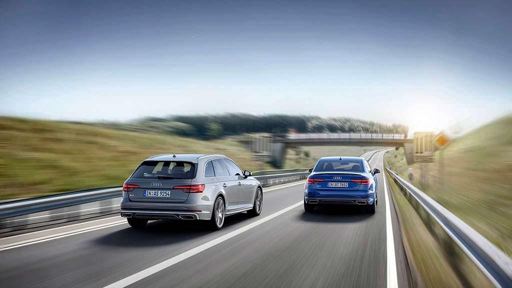 Рестайлинг седана и универсала Audi A4
