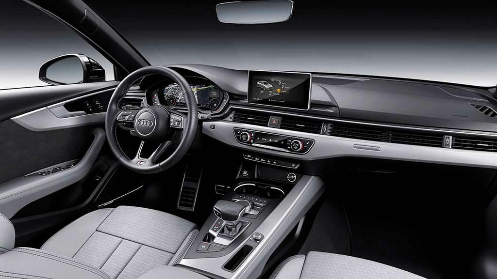 Интерьер Audi A4 B9