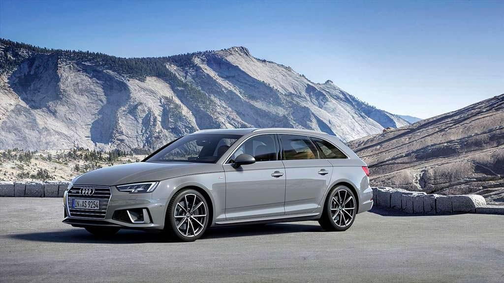 Универсал Audi A4 B9