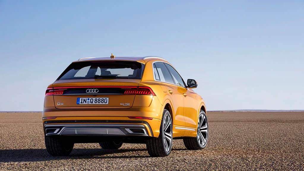Новая Audi Q8