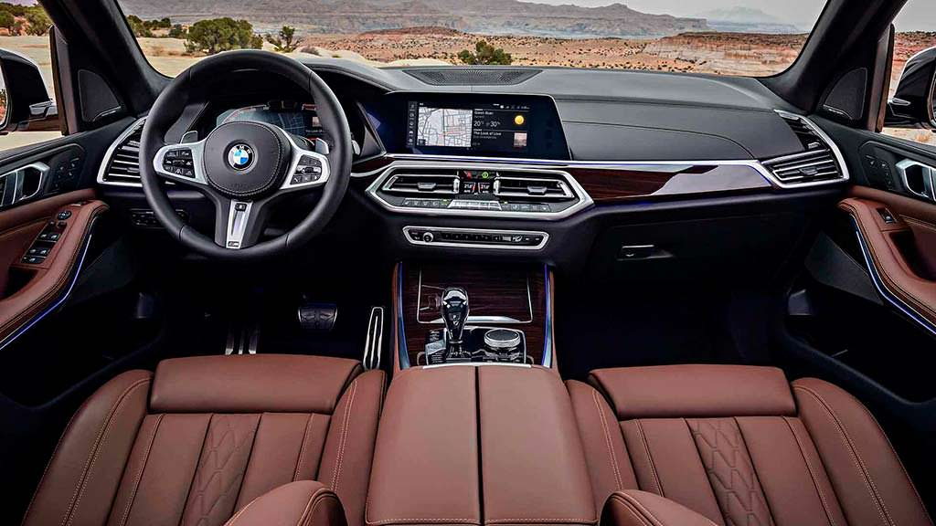 Фото салона BMW X5 четвертого поколения